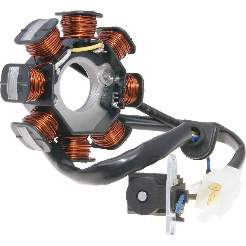 SYM Fiddle 2 50 4T Lima Genera Lichtmaschine Stator-Peugeot Speedfight 3 50 4T