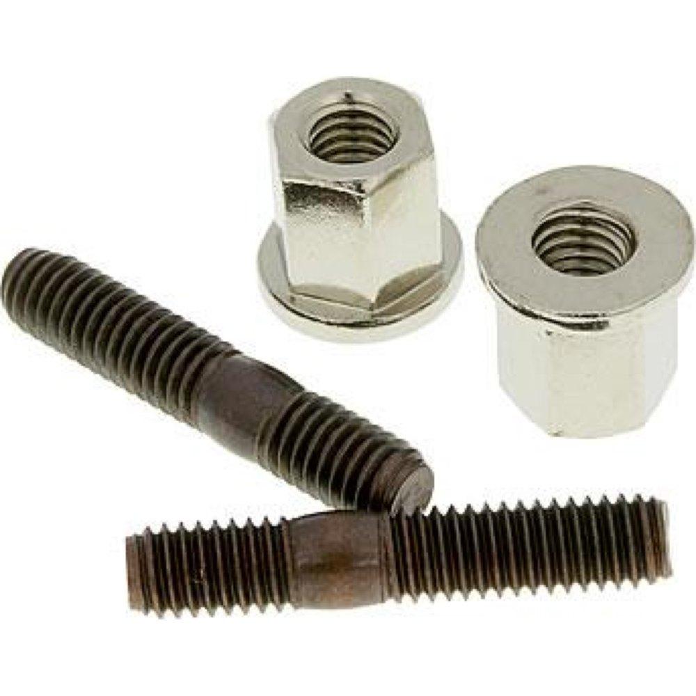 tuercas-m6x32mm sistema de escape silenciador Escape cilindro set Naraku incl