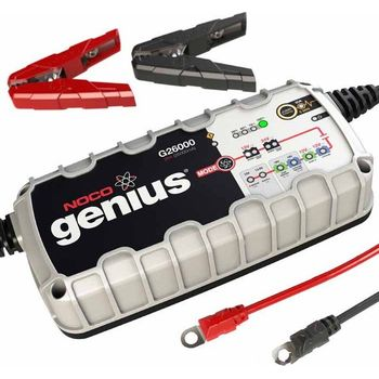 motorcycle noco genius battery charger g26000uk. Black Bedroom Furniture Sets. Home Design Ideas