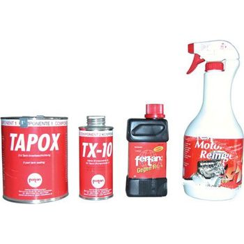 tank sanierungs set tapox petrol tank sealer kit. Black Bedroom Furniture Sets. Home Design Ideas
