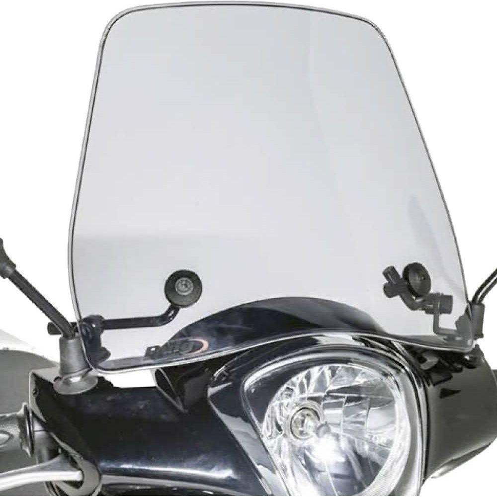 Windschild PUIG Trafic transparent//klar f/ür NOVA MOTORS City Star 50 4T